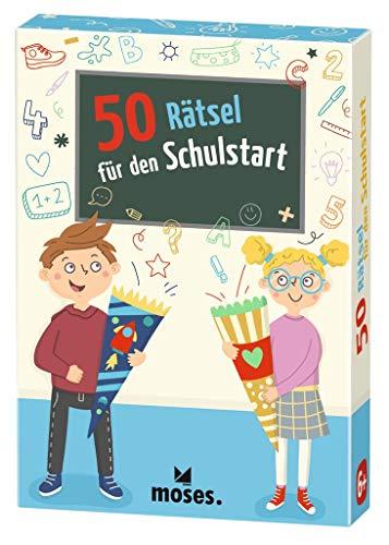 Moses. 30248 50 Rätsel für den Schulstart   Kinderbeschäftigung   Kartenspiel