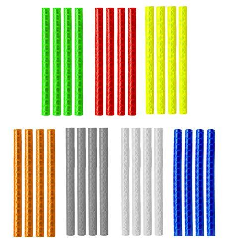 BESPORTBLE 84 Stücke Fahrrad Speichenreflektoren Fahrradspeichen Reflektor Speichensticks Kinderfahrrad Zubehör für Kinder Roller Fahrrad Speichen Dekoration (Zufällig)