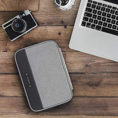 bagsmart Elektronische Tasche, Elektronik Organizer Reise für Handy Ladekabel, Powerbank, USB Sticks, SD Karten