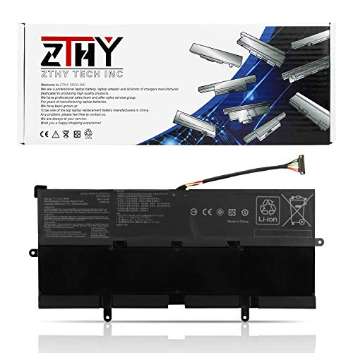 ZTHY C21N1613 Laptop Battery Replacement for ASUS Chromebook Flip C302C C302CA C302CA-1A C302CA-GU003 GU006 GU017 C302SA Series 0B200-02280000 C21PQC5 7.7V 39Wh
