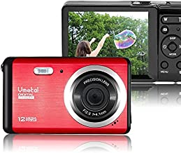 Mini Digital Camera,Vmotal 2.8 inch LCD HD Digital Camera Kids Childrens Teens Beginners Point and Shoot Rechargeable Cameras Video Camera Digital Students Cameras-Holiday Birthday