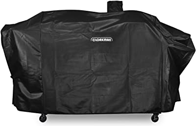 Cloakman Premium Heavy-Duty Series Pit Boss Memphis Ultimate Grill Cover and Smoke Hollow PS9900-SY18 DG1100S 4in1 Combo Grill Cover GC7000