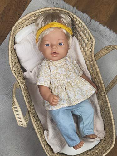 Kleiderset für Puppe 43 -46 cm Baby born Mashasdolls