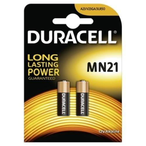Duracell DUR203969 Blister Batterie MN21/A23/V23GA (2X 2er Pack)