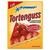 10er Set Tortenguß rot Komet - nostalgische DDR Kultprodukte - Ossi Artikel