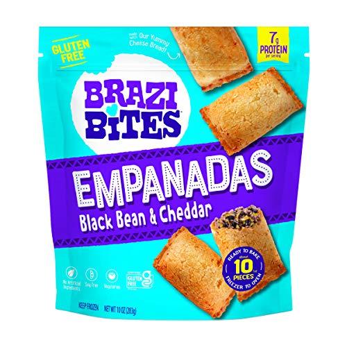 Brazi Bites, Empanadas Black Bean Cheddar Gluten-Free, 10 Ounce