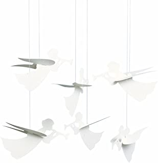 Flensted Mobiles Angel Hanging Mobile - 16 Inches Cardboard