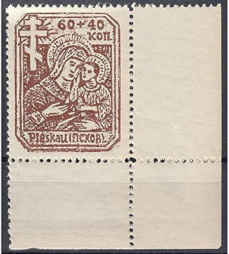 Goldhahn Deutsche Besetzung Russland Nr.12bI postfrisch  Plattenfehler Briefmarken für Sammler