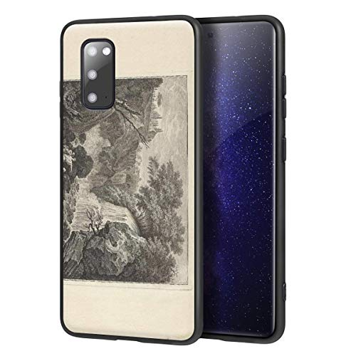 Jean Fouquet for Samsung Galaxy S20Case/ArtCellphoneCase/GicleeUVReproductionPrintonMobilePhoneCover(View of The Surroundings of Narni in Lombardy)