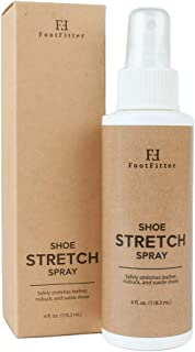 Shoe and Boot Stretch Spray - Stretcher Solution for Leather, Suede, Nubuck, and Canvas! Made in the USA
