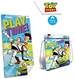 Toalla de Playa Toy Story - 100 % algodón - Bolsa Toy Story