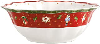 comprar comparacion Villeroy & Boch 14-8585-3160 Fuente Toy's Delight, para Navidad, 32 cm, en Festivo Embalaje de Regalo, Porcelana, Multicol...