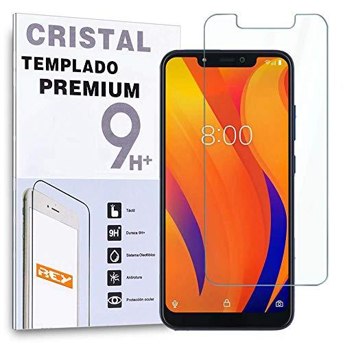 REY Protector de Pantalla para VSMART Joy 1+ / 1 Plus, Cristal Vidrio Templado Premium