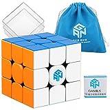 D-FantiX Gan 354-V2 M 3x3 Speed Cube Stickerless Gan 354M Gans 3x3 Magnetic Cube Puzzle Toys
