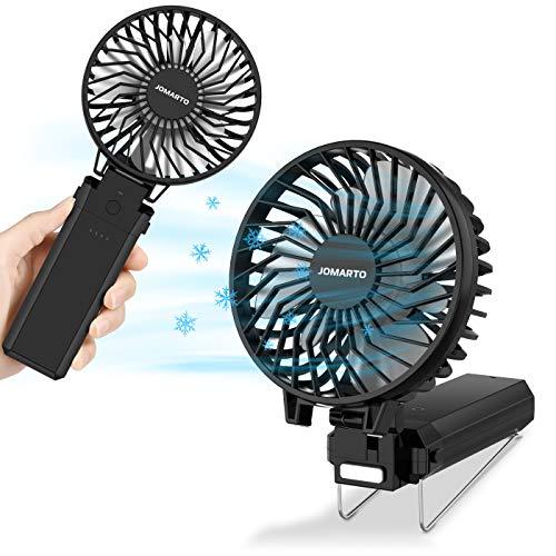 携帯扇風機 2019年最新型 手持ち扇風機 充電式 「4in1機能搭載」 ハンディファン最大20時間動作 5段階風量...