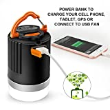 Camping Lantern,Outdoor Rechargeable LED Light With 8800mAh Power Bank Camping Lights, IP65 Waterproof, 133 Hours Use for One Charge Tent Lamp For Outdoor Camping Hiking Fishing (4 Modes)
