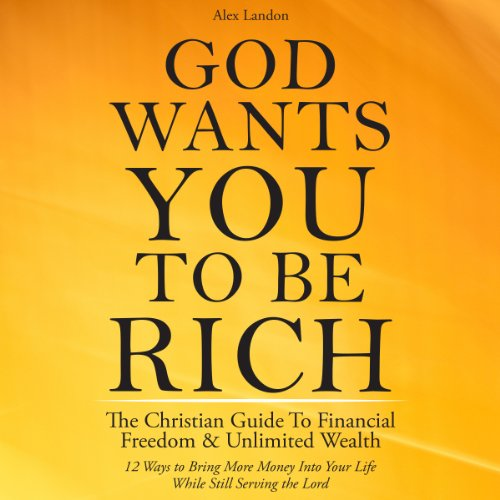God Wants You to Be Rich audiobook cover art