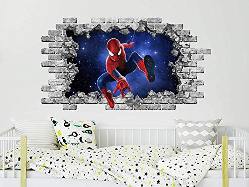 Spider Man Homecoming Wall Sticker Decal Home Art Mural Marvel Super Hero WC14