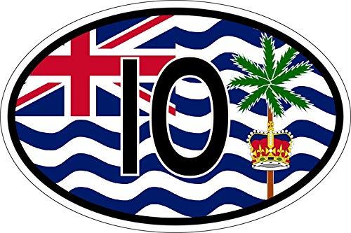 Akachafactory sticker vlag vaandel IND Brits terreland Indiase
