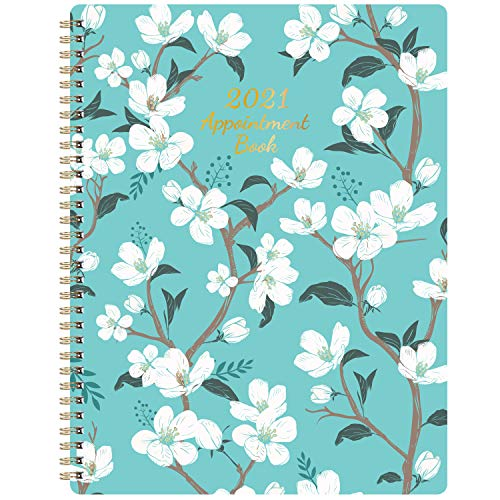 2021 Weekly Appointment Book - 2021 Daily Hourly Planner, 8