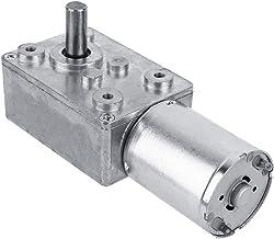 DC 12 V elektromotor reductiemotor draaimomentmotor zelfvergrendelingsmotor turbine metalen transmissiebox (20 tpm)
