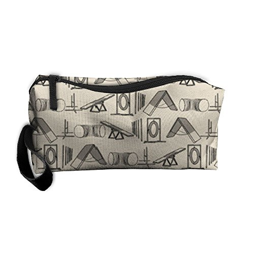 Simple Dog Agility Equipment Pencil Case Holder Zipper Pencil Bag Makeup Bag Cosmetic Bag Coin Purse Pouch Travel Toiletry Bag Multi-Purpose Bag 7.9 X 2.4 X 3.5