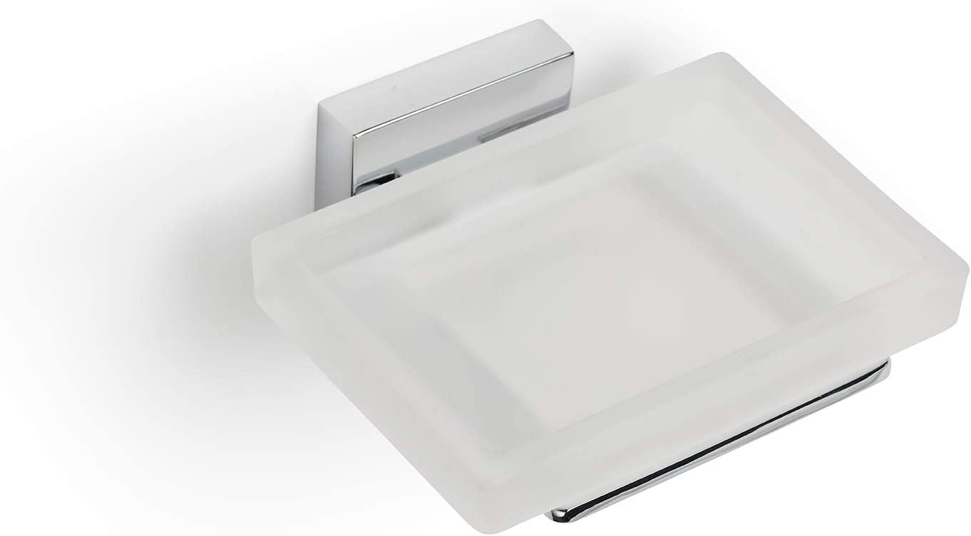Croydex Flexi-Fix Easy to Fit Chrome Square Plated free Cheadle Max 56% OFF Desig