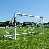 Samba 8 x 4ft Locking Goal - Portable Garden Football Goal Posts