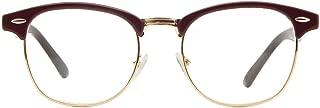 Cyxus Blue Light Blocking Semi-Rimless Computer Glasses, Anti Eyestrain Minimize Headaches Gaming Reading Eyewear