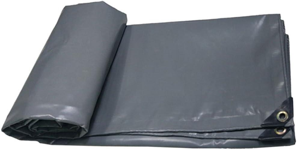 AJZXHE Bache Ignifuge Ignifuge Tissu Camion Hangar Tissu Ombre extérieure Tente Tissu Haute température résistance à l'usure résistance à la Corrosion, gris -Tente