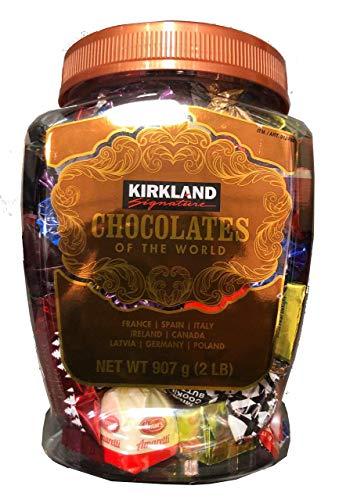 KIRKLAND Signature  Chocolates of the World in Assortment Jar 2 lb