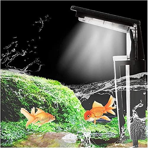 WXFCAS Lumière de l'aquarium d'aquarium Submersible LED 22 0v LED Réservoir de Poisson Lampe de Poisson Poisson Aquariums Décor Lampe d'éclairage (Couleur: X7) (Couleur: X7) (Color : X7)