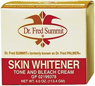 Set of 2 Dr. Fred Palmer 4 oz. Skin Whitener Cream bundled by Maven Gifts
