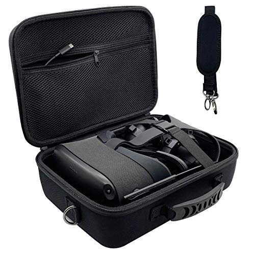 Oculus Quest Case Hard Travel Carrying Case for Oculus Quest VR Gaming Headset and Controller Accessories VR Protective Storage Case with Shoulder Strap