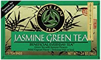 Triple Leaf Tea - ジャスミン グリーン ティー - 1ティーバッグ