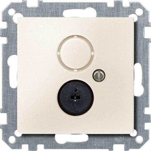 Merten 295944 Lautsprecher-Steckdosen-Einsatz, weiß, System M