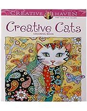 LDA Frisse 24 pagina's creatief kat kleurboek Kill Time Painting kleurboek voor kinderen zwart-wit achtergrond kleuren en schilderen