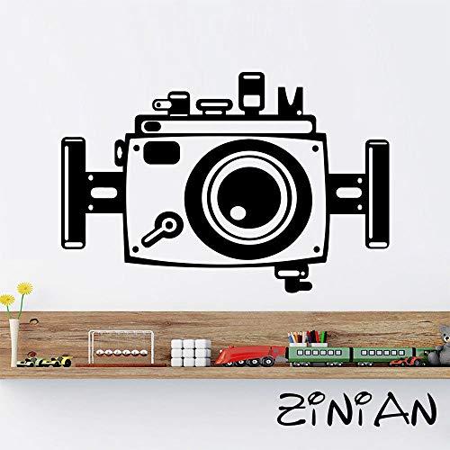 yaonuli Kamera Fotografie abziehbilder Wohnzimmer entfernbare Vinyl wandaufkleber wanddekoration Schlafzimmer Mode Aufkleber murals62x42cm