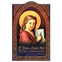 Holy Card(正式聖霊護符)ペーパータイプ - Ten Commadments