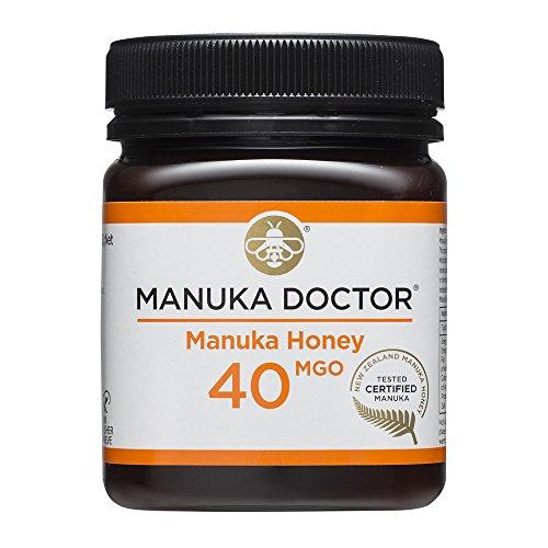 Manuka Doctor Manuka Honig 40 MGO - Original Manuka Honig aus Neuseeland mit Methylglyoxal - 250 g