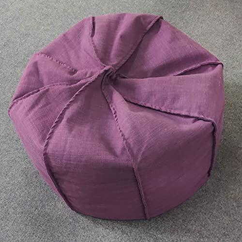 Liu Yu·casa creativa Silla de Almacenamiento de Bolsas de Frijoles - Silla de Espuma de Frijoles con Funda de microbuena - Muebles Rellenos de Espuma rellena y Accesorios para Dormitorio