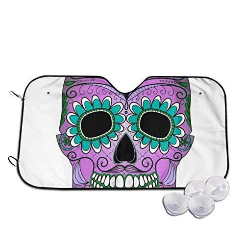Tridge Mexican Suger Skull (3) Parabrezza e parasole laterali per Auto (berlina SUV Van) - M