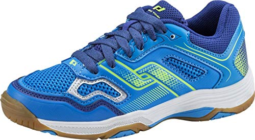 Pro Touch Unisex Rebel II Jr. Multisport Indoor Schuhe, Blau (Blue/Navy/Green Lime 000), 39 EU