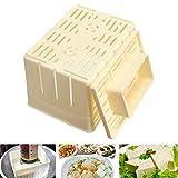 Tofu Presser, Tofu Press Maker Molde Caja Plástico PP Soybean Curd Making Machine,Tofu Maker Mold Kit,Cheese Cloth Soy DIY Molde de Prensa Herramienta de Cocina