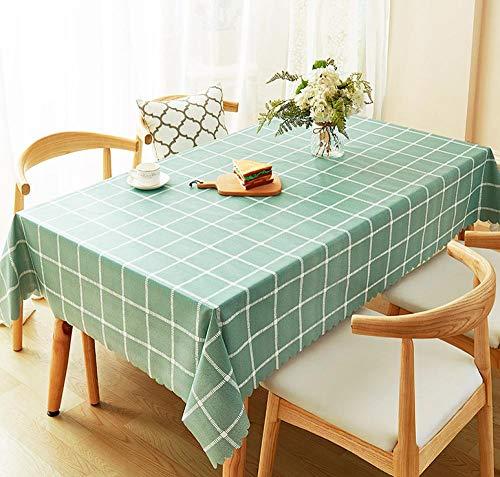 Yanxinenjoy Decoratief tafelkleed, tafelkleed, waterdicht en oliedicht wegwerp doek, pvc plastic, student bureau mat