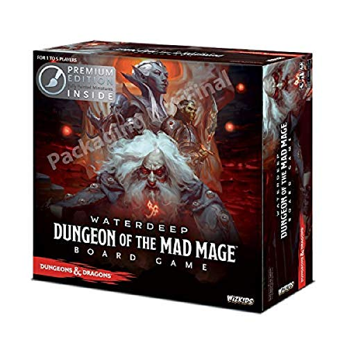 Waterdeep - Dungeon of the Mad Mage Board Game Premium Edition - DD Board Game DDN