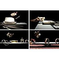 chiwanji ミニスケートボード おもちゃ 指スケー フィンガーボード ペット用品 オウム立て 2個セット