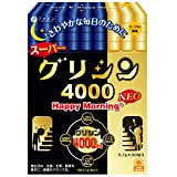 ファイン スーパー グリシン 4000 Happy Morning NEO グリシン 4000mg テアニン 50mg 配合 30包入(1日1包/30日分)