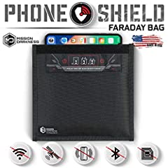 ✅ MILITARY-GRADE FARADAY BAG - Designed for military and law enforcement forensics investigators; also used for government and executive travel, personal data security, signal isolation, EMP/CME protection, and EMF reduction. ✅ MIL-STD-188-125 CERTIF...