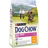 Purina Dog Chow Small Adult pienso para Perro pequeño Adulto Pollo 4 x 2,5 Kg